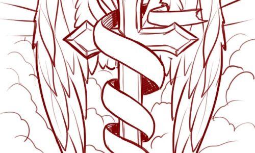 croce tattoo