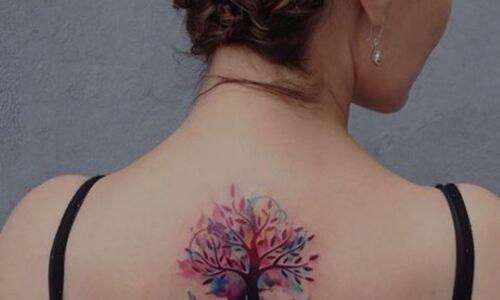 albero della vita tatuaggio