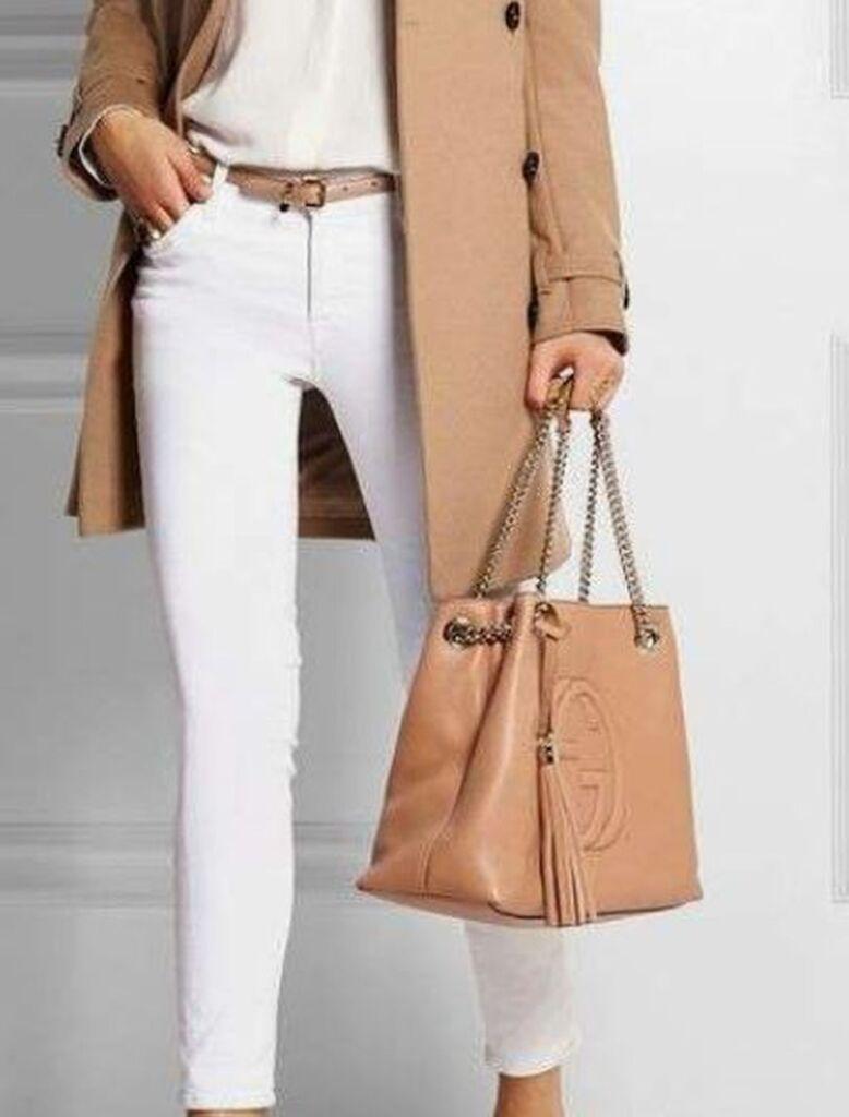 pantaloni bianchi donna
