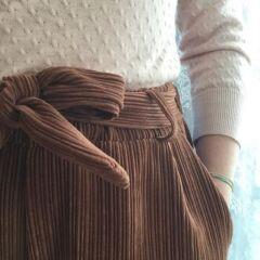 pantalone di velluto