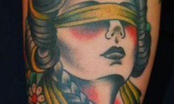 dea bendata tattoo