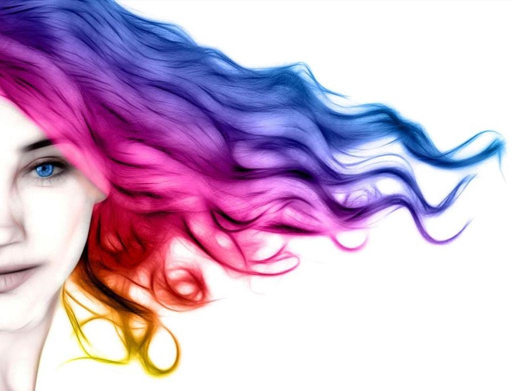 capelli color arcobaleno